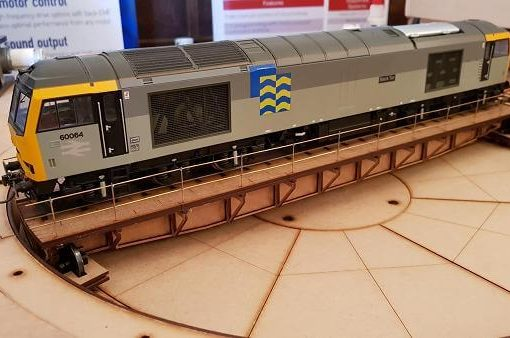 Class 60 on the O gauge turntable