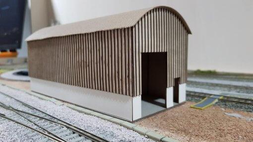 Laser Cut Farm/Industrial Building