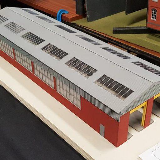 Railway Laser Lines 2 Road Diesel Depot Kit
