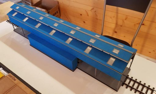 O Gauge Laser Cut Diesel Servicing Shed Gresty Bridge