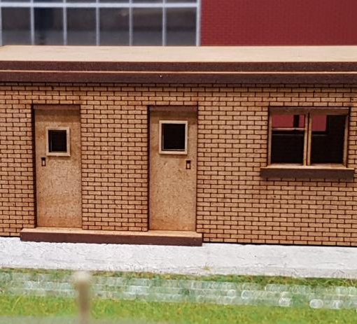 OO Gauge Toton Fuel Line Store & Maintenance Office