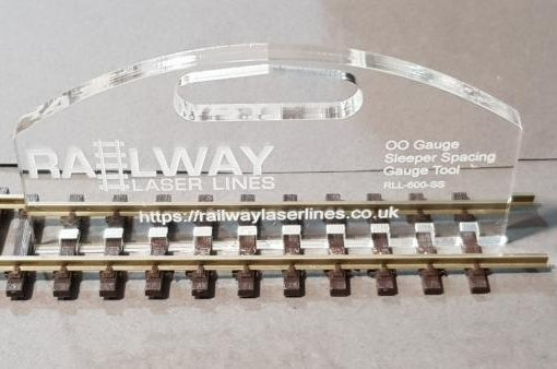OO Gauge Sleeper Spacing Tool