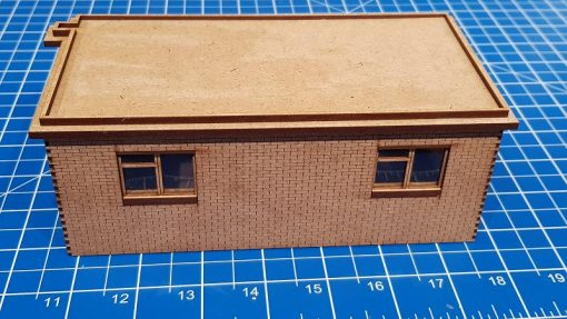 Laser Cut O Gauge Toton Fuel Store and Maintenance Office Kit