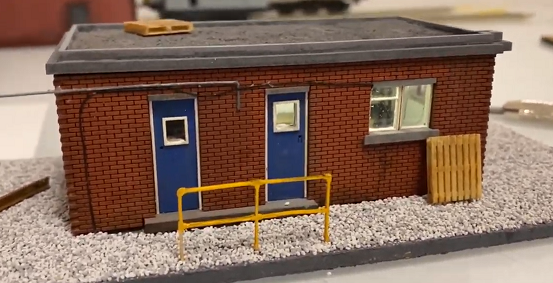 OO Gauge Laser Cut Kit - Toton Fuel Store and Maintenance Office