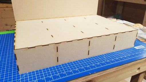 Mini Diorama Baseboards
