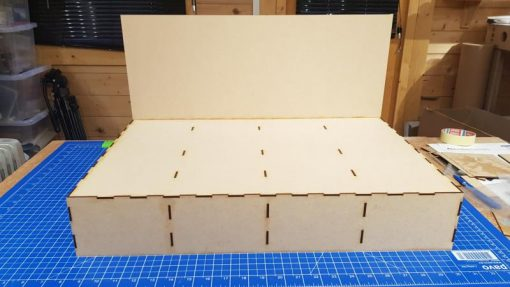 Mini Diorama Baseboards From Railway Laser Lines