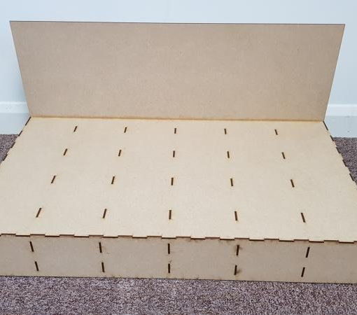 Maxi Diorama Baseboard 700mm x 400mm Railway Laser Lines