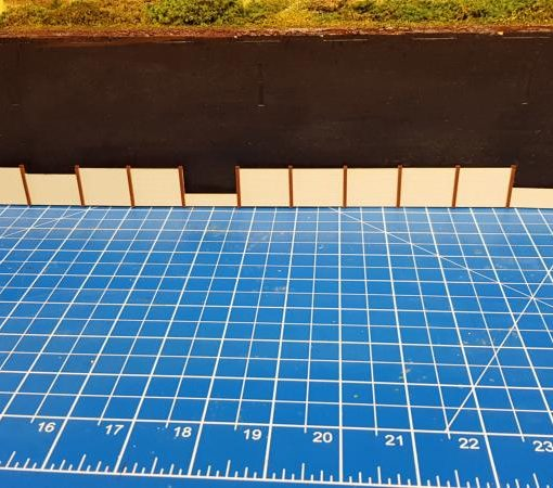 OO Gauge Concrete Panel (some missing) Pack - Railway Laser Lines