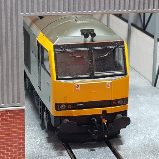 O gauge laser cut single road diesel depot dead-end version - railwaylaserlines.co.uk