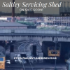OO Gauge Laser Cut Kit - Saltley Servicing Shed - Railway Laser Lines