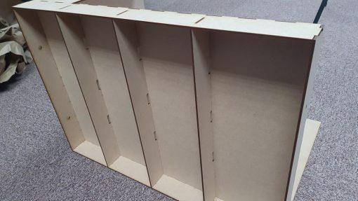 Diorama Display twin Baseboard Pack - Railway Laser Lines