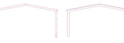 Front Facia For 2 Road Service Shed