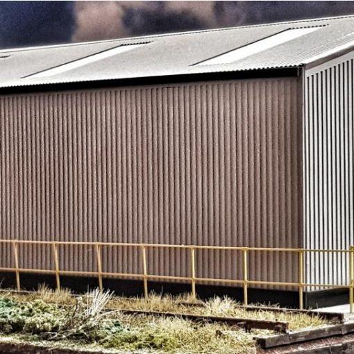 O Gauge railing kit - Railway Laser Lines