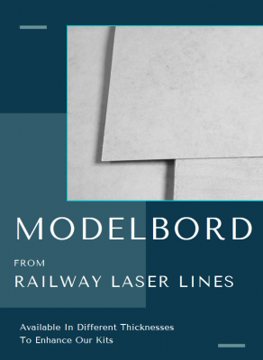 Modelbord Laser Cut Kits From Railway Laser Lines