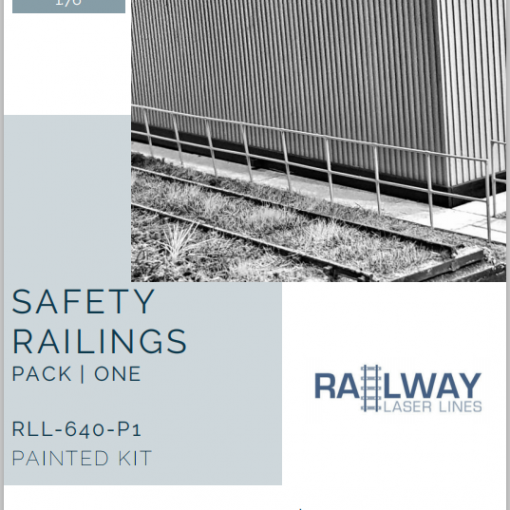RLL640P1-Safety-Railings-Pack1-Painted-Railway-Laser-Lines