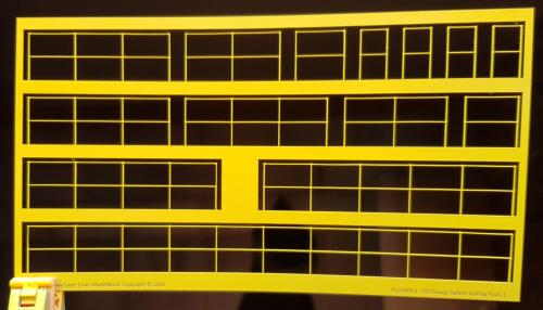 RLL640P1-Safety-Railings-Pack1-Painted-Yellow-Railway-Laser-Lines