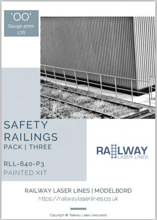 RLL640P3-Safety-Railings-Pack3-Painted-Railway-Laser-Lines