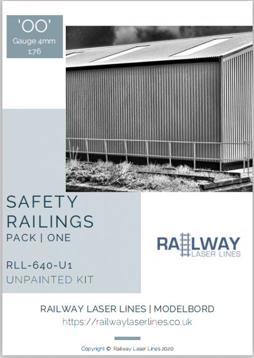 RLL640U1-Safety-Railings-Pack1-Unpainted-Railway-Laser-Lines