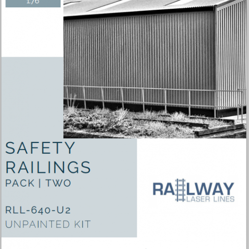 RLL640U2-Safety-Railings-Pack2-Unpainted-Railway-Laser-Lines