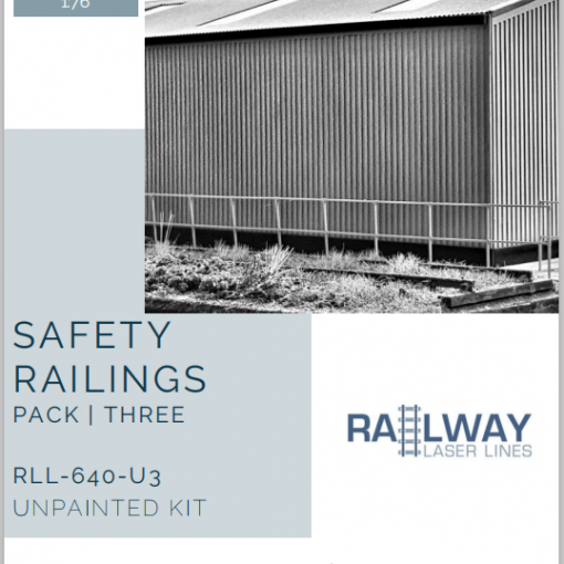 RLL640U3-Safety-Railings-Pack3-Unpainted-Railway-Laser-Lines