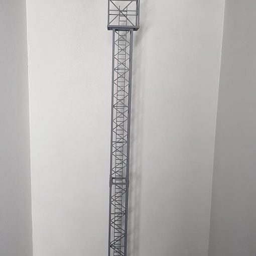 O Gauge Marshalling Yard Tower Light - Railway Laser Lines