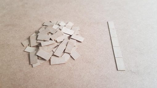 OO Gauge Paving Slabs - Railway Laser Lines