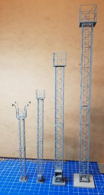 OO and O Gauge Tower Yard Lights - Railway Laser Lines