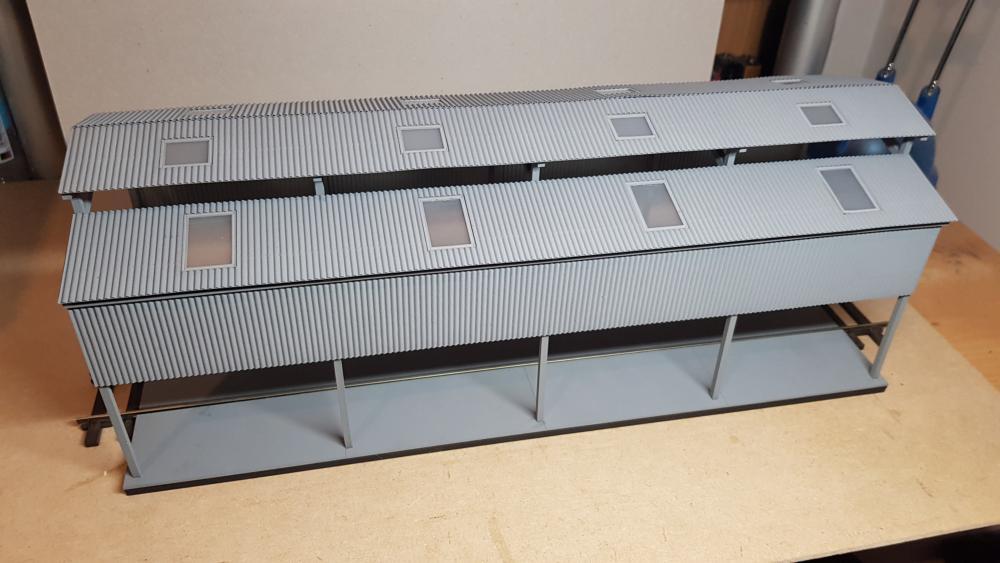 O Gauge Laser Kit - Gresty Shed - Railway Laser Lines