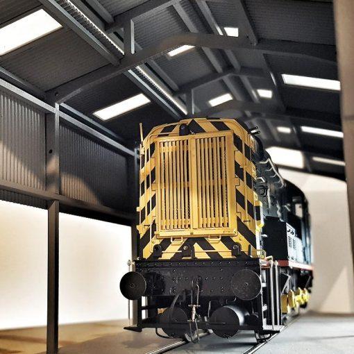 O Gauge Laser Cut Service Depot - Railway Laser Lines